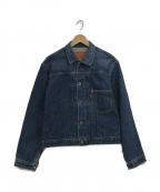LEVIS()の古着「1stタイプデニムトラッカージャケット」|ブルー