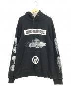 NEIGHBORHOOD()の古着「プルオーバーパーカー」|ブラック