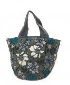 FEILER(フェイラー)の古着「Meadow Garden Bag」|グリーン