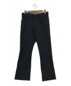 ()の古着「フレアパンツ」|ブラック