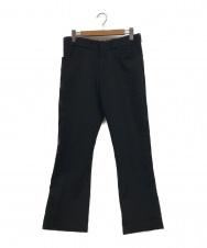 N.HOOLYWOOD (ミスターハリウッド) フレアパンツ ブラック サイズ:L