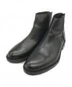 BOEMOS(ボエモス)の古着「ジップブーツ」 ブラック