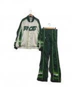 Champion(チャンピオン)の古着「[古着]90'S ゲームジャージ」|ホワイト×グリーン