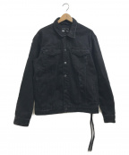 KITH(キス)の古着「LAIGHT DENIM JACKET」 ブラック