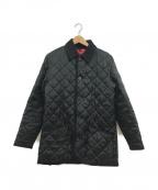 MACKINTOSH(マッキントッシュ)の古着「スコットランド製キルティングコート」|ブラック