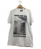 WIND AND SEA(ウィンダンシー)の古着「PHOTO T-SHIRT」|ホワイト