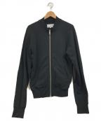 Maison Margiela 14(メゾンマルジェラ14)の古着「エルボーパッチジップブルゾン」 ブラック