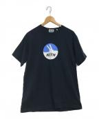 KITH(キス)の古着「プリントロゴTシャツ」 ブラック