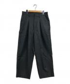 URU(ウル)の古着「ワイドタックパンツ」|グレー