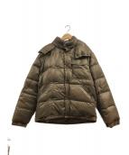 ()の古着「カラコムダウンジャケット」|ブラウン