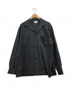 NUMBER (N)INE(ナンバーナイン)の古着「ナチュラルストレッチCPOシャツジャケット」 グレー