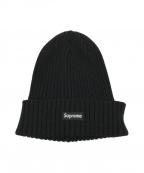 SUPREME(シュプリーム)の古着「ニット帽 / Ribbed Beanie」|ブラック