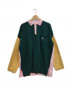 LOEWE(ロエベ)の古着「カラーブロックポロシャツ」|マルチカラー