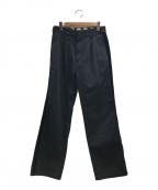 Dickies(ディッキーズ)の古着「サイドラインワークパンツ」|ブラック