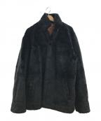 flagstuff(フラグスタフ)の古着「エコファービックシルエットジャケット」|ブラック