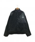 flagstuff(フラグスタフ)の古着「ライトフリースジャケット」|ブラック