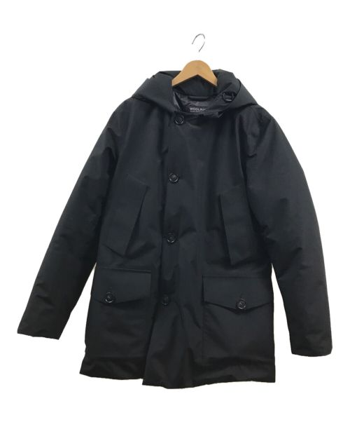 WOOLRICH(ウールリッチ)WOOLRICH (ウールリッチ) ティートンダウンジャケット ブラック×イエロー サイズ:Sの古着・服飾アイテム