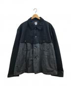 AiE(エーアイイー)の古着「Bedford Cord 切替しジャケット」 ブラック
