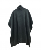 CLANE()の古着「Wool Double Face Neck Cape Kni」|オリーブ