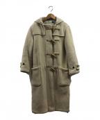 GLOVER ALL(グローバーオール)の古着「オールドダッフルロングコート」|アイボリー