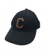 COACH(コーチ)の古着「VARSITY C CAP」|ブラック