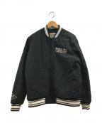AVIREX(アヴィレックス)の古着「アワードジャケット」|ブラック