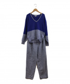 Christian Dior Sports(クリスチャンディオールスポーツ)の古着「ニットセットアップ」|ブルー