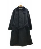 ()の古着「2レイヤートレンチコート」|ブラック