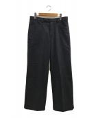 ()の古着「ヴィンテージウールパンツ」|ブラック