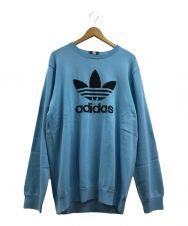 adidas originalsx Have A Good Time (アディダス×ハブ ア グッド タイム) Summer Knit ブルー サイズ:XXO