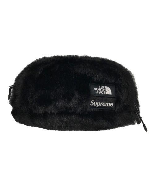 SUPREME×THE NORTH FACE(シュプリーム ×ザノースフェイス)SUPREME×THE NORTH FACE (シュプリーム ×ザノースフェイス) Fur Waist Bag Black ブラックの古着・服飾アイテム