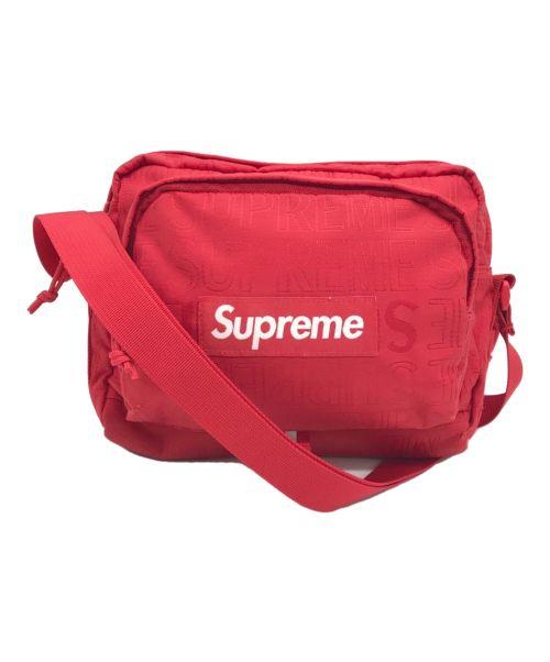 SUPREME(シュプリーム)SUPREME (シュプリーム) Shoulder Bag レッドの古着・服飾アイテム