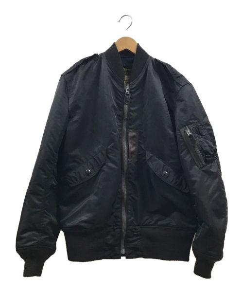 BUZZ RICKSON'S(バズリクソンズ)BUZZ RICKSON'S (バズリクソンズ) L-2B LONG SOLID MODEL ブラック サイズ:Mの古着・服飾アイテム
