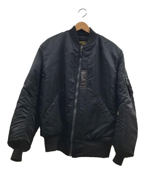 BUZZ RICKSON'S(バズリクソンズ)BUZZ RICKSON'S (バズリクソンズ) MA-1 1st ブラック サイズ:40の古着・服飾アイテム