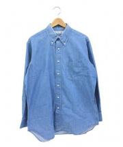 INDIVIDUALIZED SHIRTS(インディビジュアライズドシャツ)の古着「ダンガリーシャツ」 インディゴ