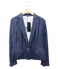 iCB(アイシービー)の古着「テーラードジャケット」|ネイビー