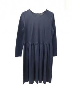 Demi-Luxe Beams(デミルクス ビームス)の古着「カットソーワンピース」|ネイビー