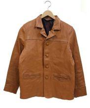 G&F WORKERS(ジーアンドエフワーカーズ)の古着「ホースハイドジャケット」|ブラウン