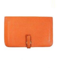 HERMES(エルメス)の古着「財布」|オレンジ