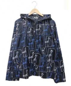 BLACK COMME des GARCONS(ブラックコムデギャルソン)の古着「ナイロンジャケット」|ブラック×ブルー