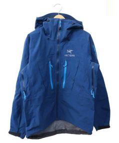ARCTERYX(アークテリクス)の古着「Alpha SV Jacket」 ブルー