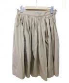 PRADA(プラダ)の古着「スカート」|ベージュ