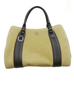 LOEWE(ロエベ)の古着「スウェードハンドバッグ」|ベージュ