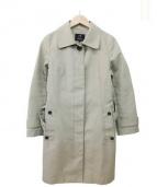 23区(ニジュウサンク)の古着「ライナー付ステンカラーコート」|ベージュ