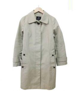 23区(ニジュウサンク)の古着「ライナー付ステンカラーコート」 ベージュ