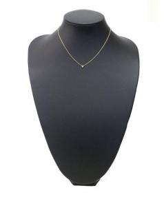 TIFFANY & Co.(ティファニーアンドコー)の古着「ダイヤモンドバイザヤードネックレス」|ゴールド