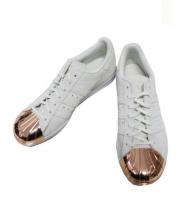 adidas(アディダス)の古着「ローカットスニーカー」 アイボリー