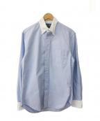 GITMAN BROS(ギットマンブラザーズ)の古着「クレリックシャツ」 スカイブルー