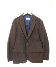 MACKINTOSH PHILOSOPHY(マッキントッシュフィロソフィー)の古着「ウールテーラードジャケット」 ブラウン