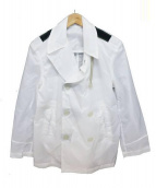 CAMPLIN(カンプリン)の古着「Pコートウインドブレーカー」|ホワイト